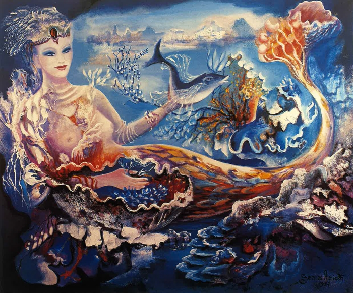 Farandole sous la mer_La sirène_Gemmanick