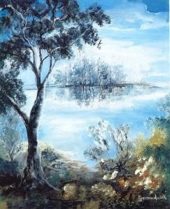 Paysages de jeunesse : Clair matin - Gemmanick