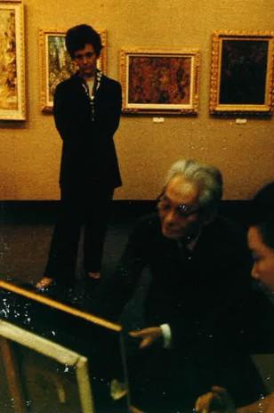 Gemmanick expose à la galerie Nichido en 1971