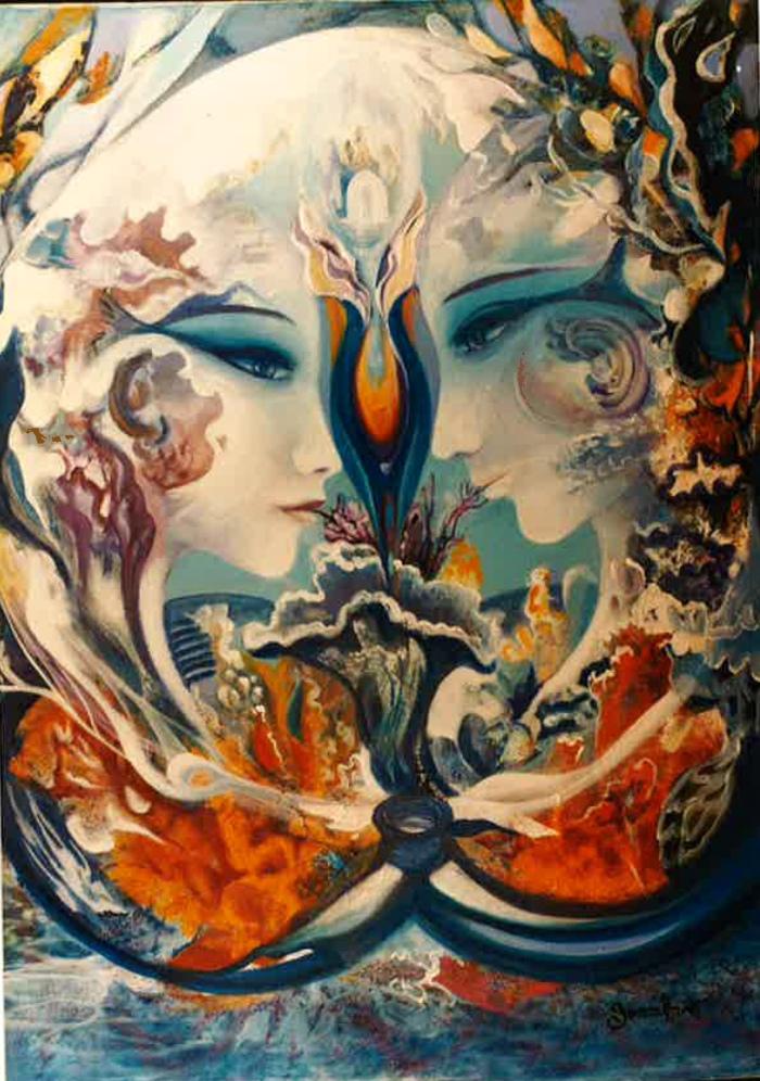 Farandole sous la mer_Face à face_Gemmanick
