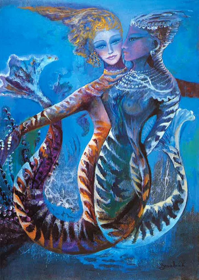 Farandole sous la mer_Le ballet des sirènes_Gemmanick