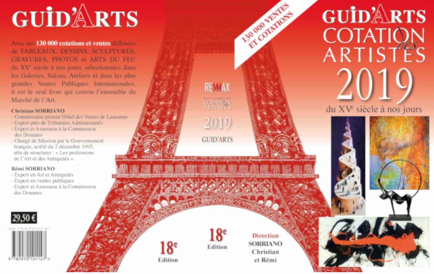 Dictionnaire Cotation des Artistes 2019